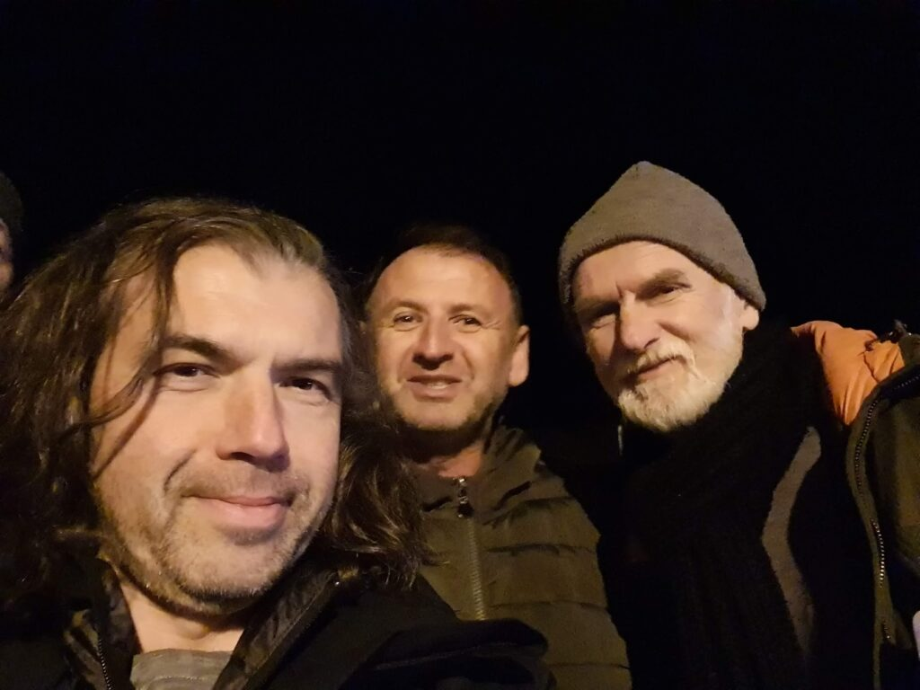 Mario Marco e Tomislav a Citluk